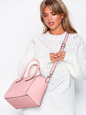 Handväskor - NLY Accessories Perfect Shopper Bag Ljus Rosa