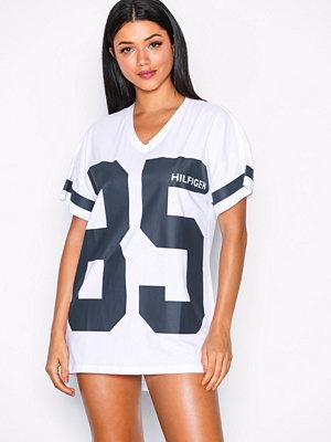 Nattlinnen - Tommy Hilfiger Underwear Dress SS Fashion Vit