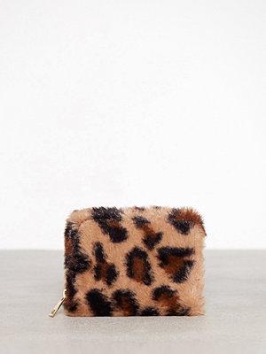 New Look Faux Fur Cardholder Brown