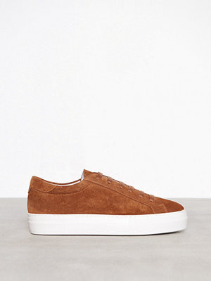 J. Lindeberg Low Lace Suede Bison
