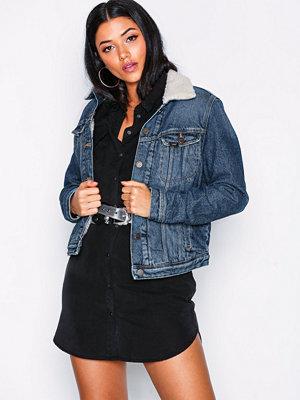 Lee Jeans Sherpa Jacket Vintage Wor Vintage