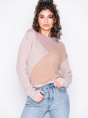 Pieces Pcfrikka Ls Wool Knit Rosa