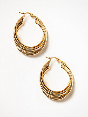 WOS örhängen Turn Earrings Guld