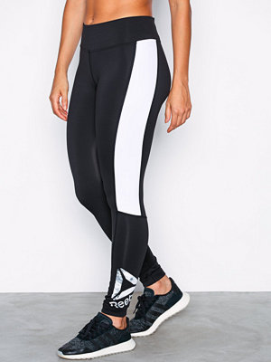 Sportkläder - Reebok Performance Wor Big Delta Tight Svart