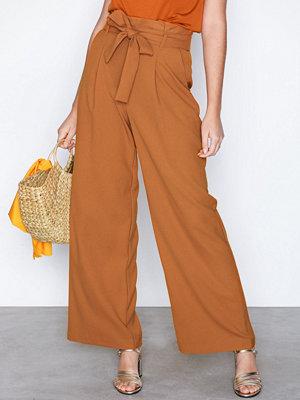 Vero Moda omönstrade byxor Vmkim H/W Wide Long Pant D2-5
