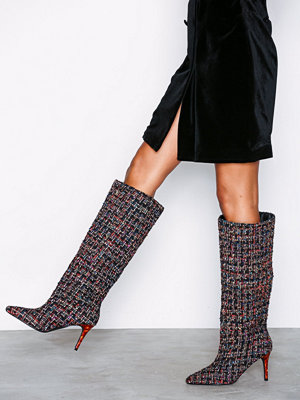 NLY Shoes Tortoise Tweed Boot