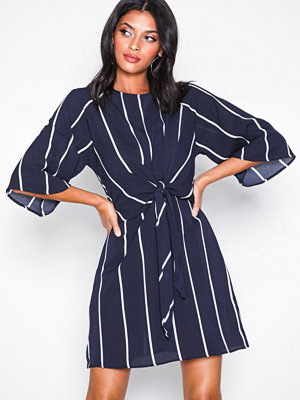 Ax Paris Knot Front Dress Navy
