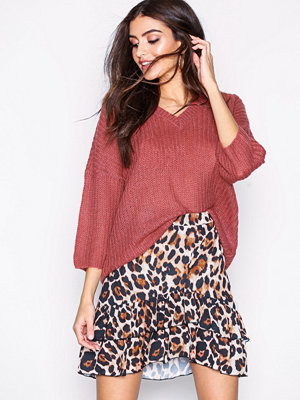 Sisters Point Nero Skirt Leopard