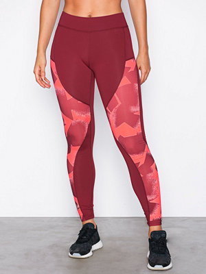 Sportkläder - Only Play onpINK Aop Low Training Tights Mörk Lila