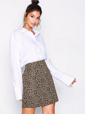 NLY Trend Mini Leopard Skirt