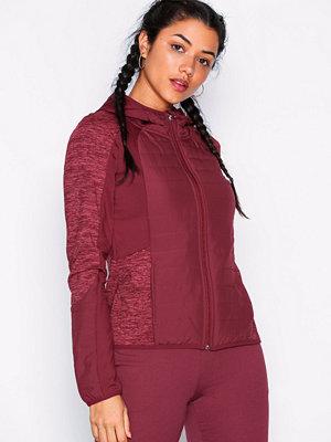 Sportkläder - Only Play onpHILLS Hood Short Jacket Mörk Lila