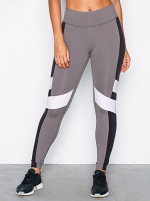 Sportkläder - Reebok Performance Lux Color Block Tight Grå/Svart