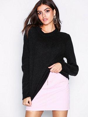 Object Collectors Item Objnete L/S Knit O-Neck Pullover No Svart