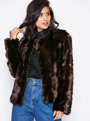 NLY Trend Shiny Fur Jacket
