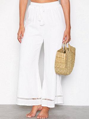 Strandplagg - Minkpink Antigua Textured Culotte Vit