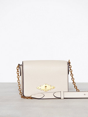 Polo Ralph Lauren omönstrad axelväska Chain Crossbody Small Beige