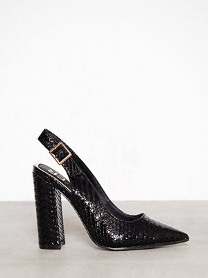 River Island Word Court Shoe