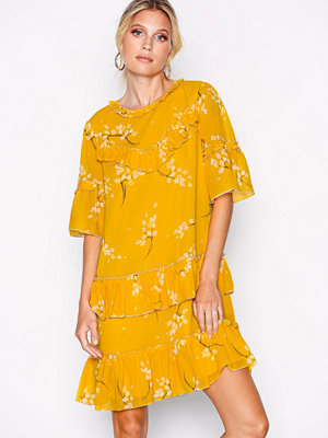 River Island SS Heron Swing Dress Yellow