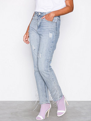 Glamorous Bleached Jeans Blue