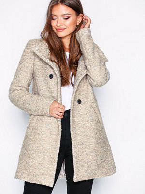 Only onlSOPHIA Boucle Wool Coat Cc Otw Ljus Brun