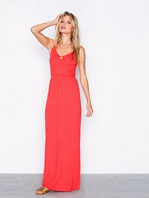 New Look Jersey V Neck Maxi Dress Red