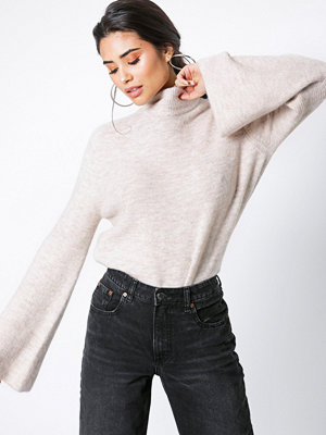 NORR Andy knit top Camel