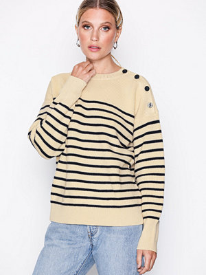 Polo Ralph Lauren Shoulder Button Sweater Natural