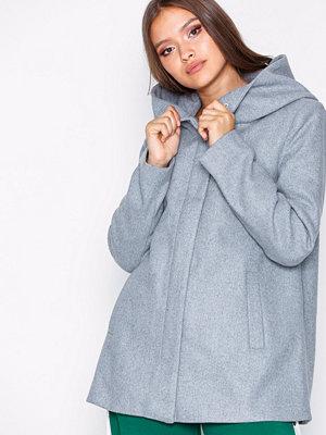 Vero Moda Vmhyper Class Wool Jacket Noos Ljus Grå