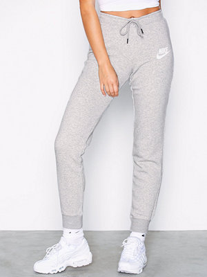 Nike vita byxor NSW Rally Pant Tight Grå Melange