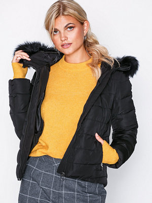Only onlNEW Ellan Quilted Fur Hood Jacke
