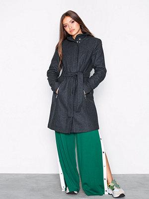 Vero Moda Vmbessy Class 3/4 Wool Jacket Noos Mörk Grå