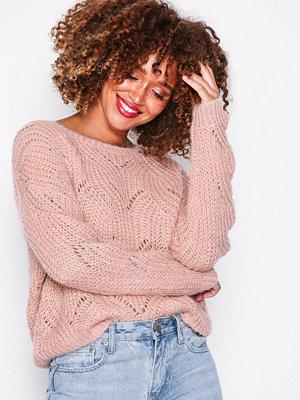 Only onlHAVANA L/S Pullover Knt Noos Ljus Rosa