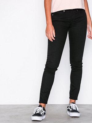 Calvin Klein Jeans CKJ 011: Mid Rise Skinny Black
