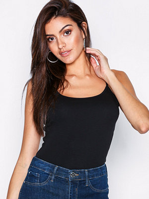New Look SS Cami Top Black