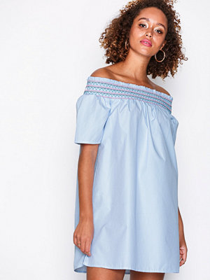 Tommy Jeans Off Shoulder Dress Vit
