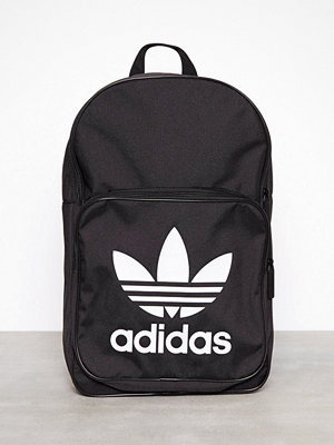 Adidas Originals Bp Clas Trefoil Svart ryggsäck med tryck