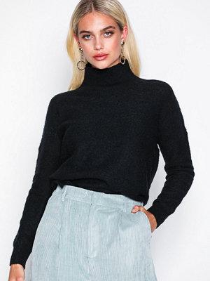 Tröjor - MOSS Copenhagen Rose Mohair Pullover Black