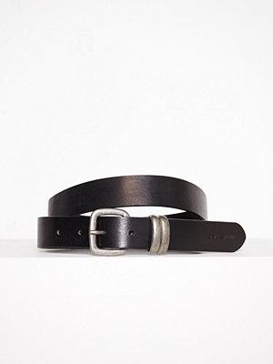 Calvin Klein J 3cm Metal Loops Belt Svart