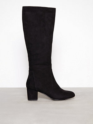 NLY Shoes Mid Knee High Boot Svart
