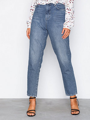Gina Tricot Iris mom jeans Mid Blue