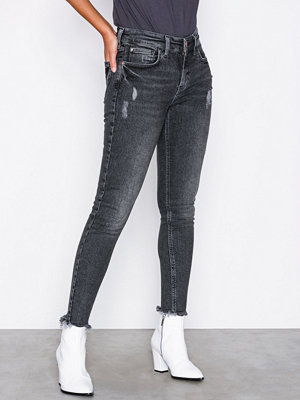 Jeans - River Island Amelie Lydia Jeans Washed Black
