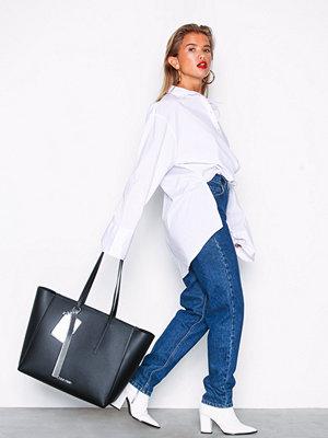 Calvin Klein Ck Base Large Shopper Svart