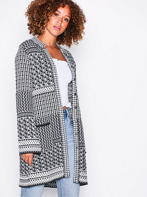 Odd Molly sunny side long cardigan Almost Black