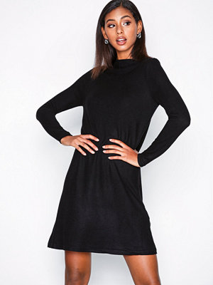 Only onlKLEO L/S Dress Knt Noos Svart