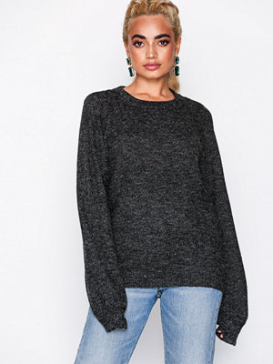 Object Collectors Item Objeve Nonsia Ls Knit Pullover Noos Mörk Grå