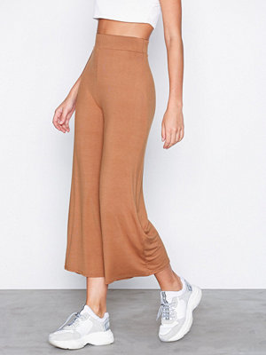 NLY Trend beige byxor Basic Culottes Ljus Brun