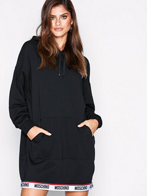Pyjamas & myskläder - Moschino Sweat Dress Svart