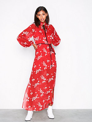 River Island LS Floral Maxi Dress