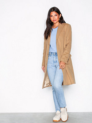 Lauren Ralph Lauren Wool Coat Light Beige