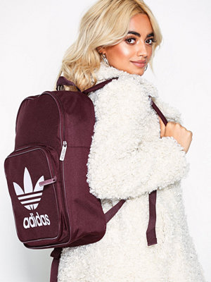 Adidas Originals ryggsäck med tryck Bp Clas Trefoil Maroon